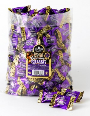 2kg Bag Double Dipped Choc Toffees